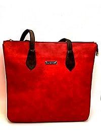 Purse Collection Elegance Women's Synthetic Leather(PU) Maroon Red Handbag & Purse/woman Purse Handbag/woman Purse...