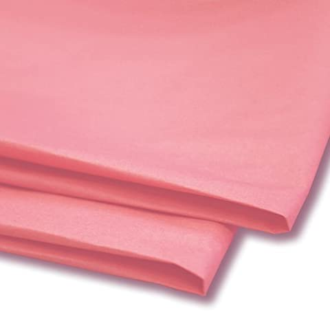 50 x Pastel Pink Tissue Paper / Gift Wrap / Wrapping Paper Sheets (20