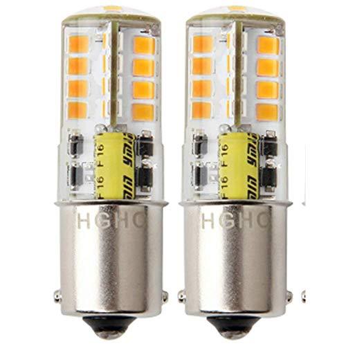 12V AC/DC LED Maisbirne wasserdichtes Birne 5W Warmweiße 3000K 500LM für Outdoor-Landschaft Beleuchtung, etc. (2-Pack) -
