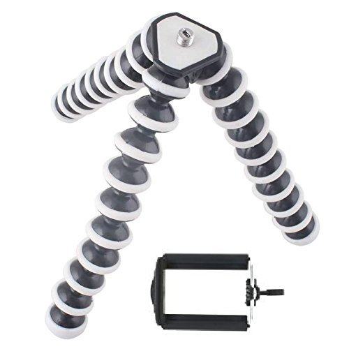 Mobile Gear Flexible Mini TriPod (10 Inch Height) For Camera, Dslr And Smartphones With Universal Mobile Attachment