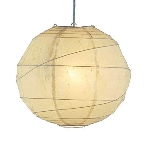 """xiadsk Licht, Lampe, Laterne AdessoOrb 24\""""Large Pendant, natürlich, Smart Outlet kompatibel"""