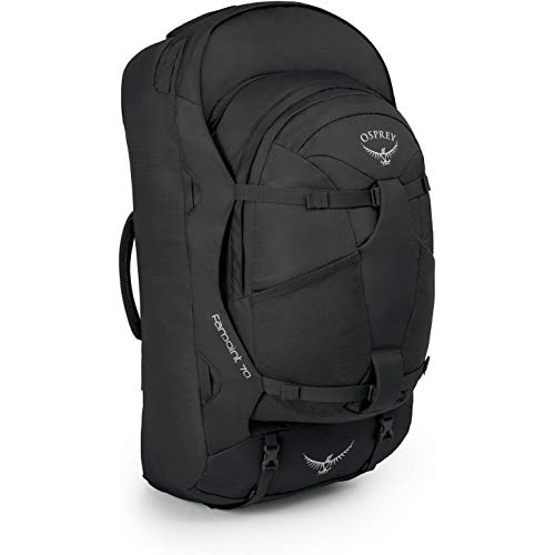 Osprey Farpoint 70 Men's Travel Pack with 70L Detachable Daypack - Volcanic Grey (M/L)