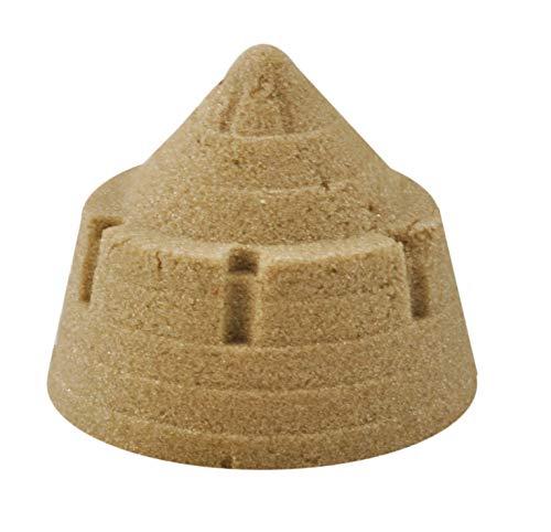 *Kinetischer Sand 1kg Spielsand Therapiesand Zauber Sand Farbauswahl #2551, Farbe:Beige*
