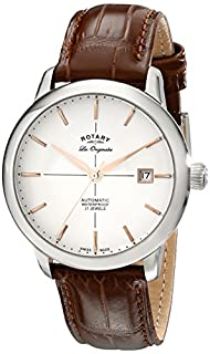Rotary Orologio Automatico con Cinturino in Vera Pelle GS90060/06 (B00I1S3FU0) | Amazon price tracker / tracking, Amazon price history charts, Amazon price watches, Amazon price drop alerts