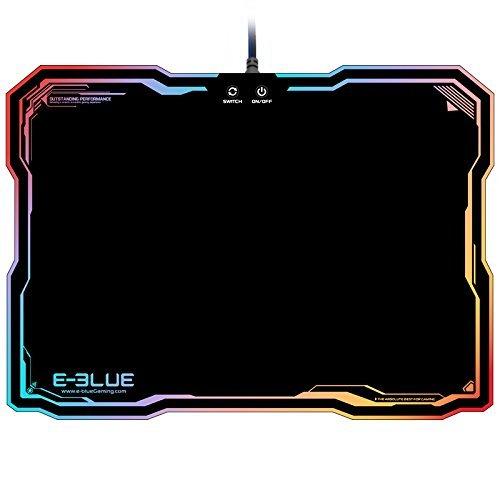 Preisvergleich Produktbild E-3LUE-EMP013-Gaming-Mauspad für Gamer - Spiel-Keyboardpad - mit Beleuchtung - RGB