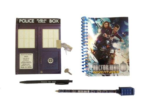 Doctor Who TARDIS Notizblock, Pen & Pencil Schreibset