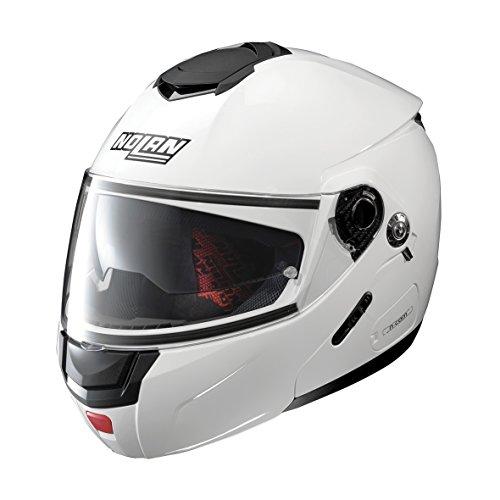 NOLAN N90-2 SPECIAL N-COM PURE WHITE L