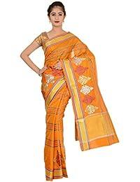 Paheli Silk Saree (Paheli012_Orange)