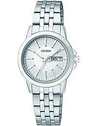 Citizen Damen-Armbanduhr Analog Quarz Edelstahl EQ0601-54AE
