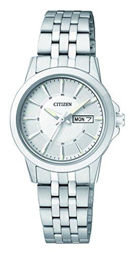 Citizen orologio analogico quarzo donna con cinturino in acciaio inox eq0601-54ae
