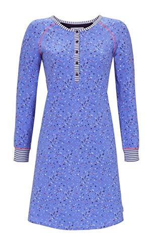 Ringella Damen Nachthemd mit Knopfleiste Pool 42 9511006, Pool, 42