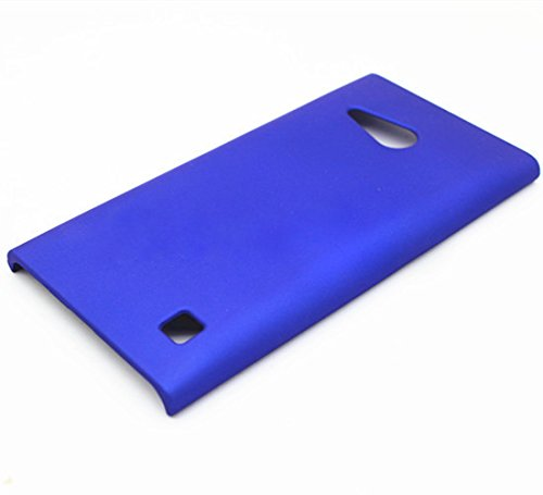 WOW Imagine Matte Rubberised Matte Hard Case Back Cover For Nokia Lumia 730 (Uber Blue)  available at amazon for Rs.189