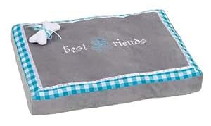 Kerbl Chien Coussin Litière Best Friends Bavaria 60x40x8 cm Bleu