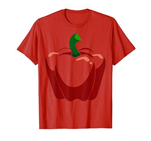 Erwachsene Kostüm Paprika Für - Big Red Paprika Kostüm Nettes Halloween Outfit T-Shirt