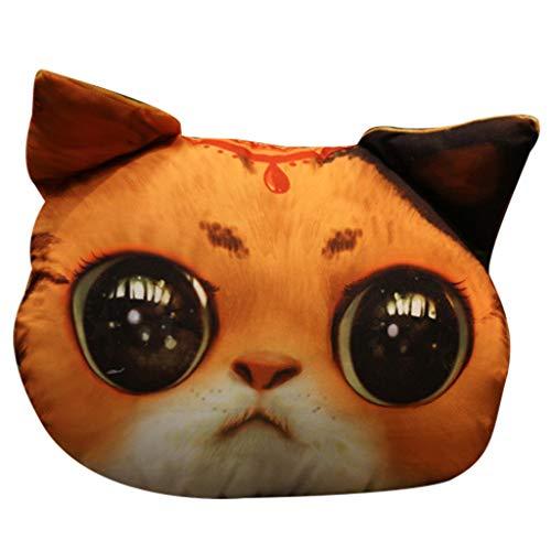 Plüschtier Super Nette weiche Spaß 33 * 38cm Plüsch Katze Tier Stofftier Puppe Geschenk für Kinder By Vovotrade - Premium-stiftung