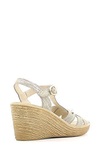 Enval 5981 Sandalo zeppa Donna Platin