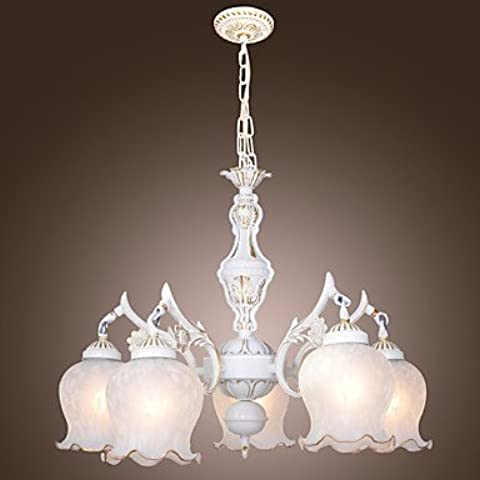 Artes claras Lámpara de techo con 5 Bombillas - PETERLEE