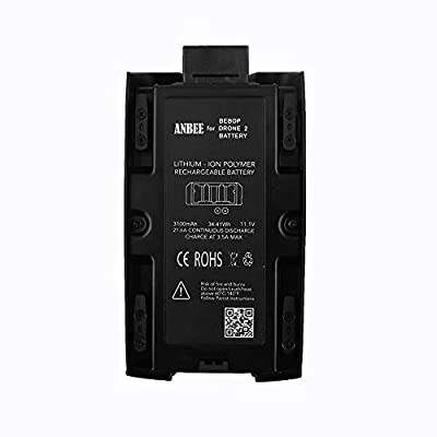 Anbee® 3100mAh 11.1V High Capacity Battery for Parrot Bebop 2 Drone