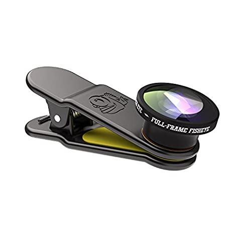 Black Eye Full Frame Fish Universal Smartphone Lens -