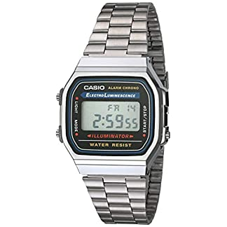 Casio Collection A168WA – Reloj Unisex para Adultos