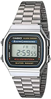 Casio Collection Unisex Adults Watch A168WA-1YES (B000LAKYW8) | Amazon Products