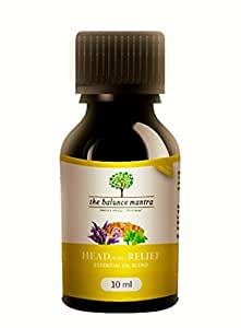 The Balance Mantra Headache Relief A Therapeutic Blend Essential Oil, 10Ml