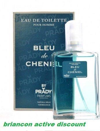 Blu di Cheniel-Profumo da uomo, 100 ml-Frusta Grande marchio EDT
