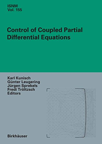 Control of Coupled Partial Differential Equations: 155 (International Series of Numerical Mathematics)