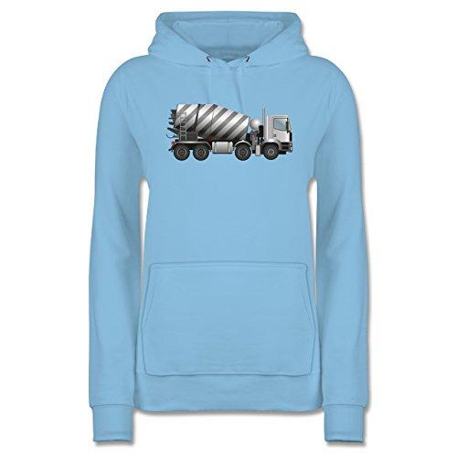 andere-fahrzeuge-betonmischer-fahrmischer-xl-hellblau-jh001f-damen-premium-kapuzenpullover-hoodie