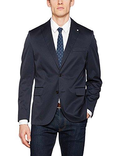 Gant O1. the Cotton Twill Blazer C, Blouson Homme Navy