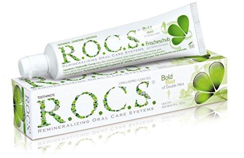 ROCS Erwachsene Doppelminze Zahnpasta 74 Gramm
