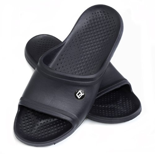AQUA-SPEED Homme Chaussures/pantoufles-très léger bleu marino