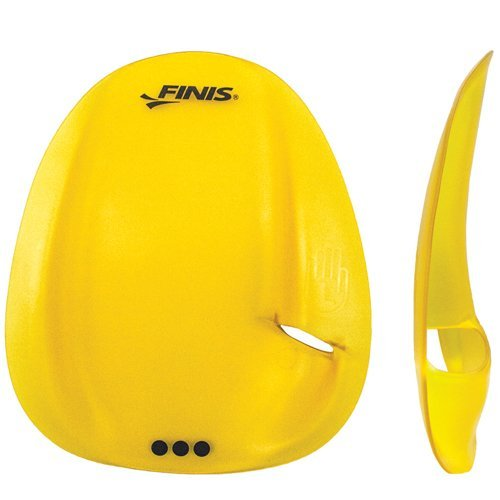 finis-agility-strapless-hand-paddle-for-swimming-training-yellow-small
