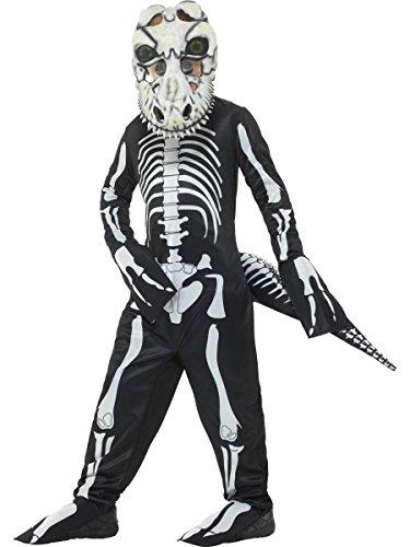 Smiffys Kinder Kostüm Skelett Dino T-Rex Karneval Halloween 7 bis 9 Jahre