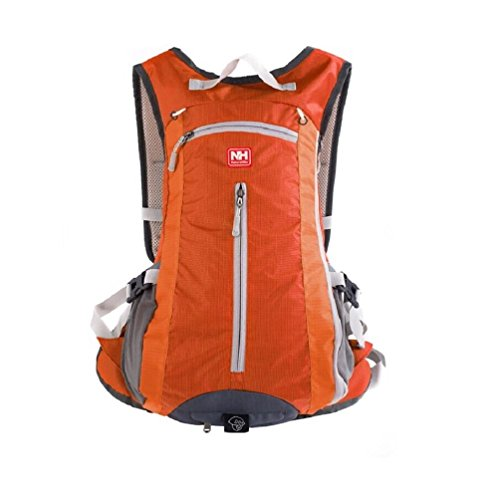 NatureHike Outdoor Zaino arrampicata zaino sport borsa zaino da campeggio, Black Arancione - arancione