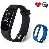 Fitness Tracker Aneken Aktivitätstracker mit Herzfrequenz Schrittzähler Schlaf-Monitor 14 Multi-Sport-Modi Kalorienzä