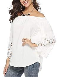 07d3b4f47f070 Amazon.es  Túnica - Blusas y camisas   Camisetas