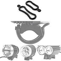 Theoutlettablet® Gomas de sujección para foco / Linterna bici compatible con modelos X2 / X3 / T6 / T6 +