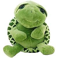 YeahiBaby Tortuga Verde Juguete de Peluche Muñeco de Peluche Suave Kawaii Tortuga Tummy Doll Cojín Almohada