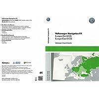 VW RNS 310Navi Update tarjeta SD V10Europa Oriental