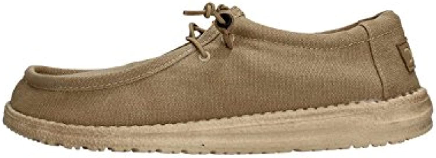 Hey Dude Shoes Wally Classic Shoes - Chestnut