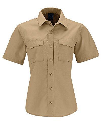 Propper Damen revtac Tactical Short Sleeve Shirt, damen, khaki (Propper Tactical Shirt)
