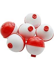 Shaddock pesca® 25pcs/pack de fijación bola Buttom duro ABS Push botón pesca flotador Bobbers, 1.25INCH-10PCS