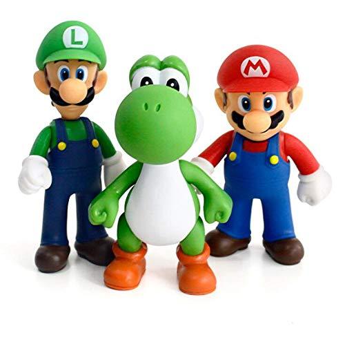 ONOGAL Colección de 3 Figuras Personajes Diferentes PVC