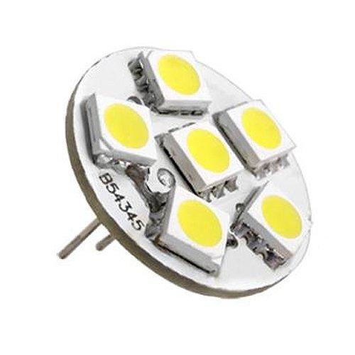 Preisvergleich Produktbild TOOGOO(R) 6 SMD LED G4 Strahler Leuchte Lampe Birnen Warmweiss Neu DC 12V