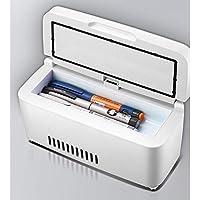 L&WB Tragbare Insulin-Kühlbox Wiederaufladbare Mini-Kleine Kühlschrank Fahrzeug Intelligent Drug Kälte Schrank preisvergleich bei billige-tabletten.eu