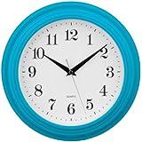 Premier Housewares 2200702 Horloge Murale Bleu