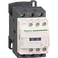Schneider Electric LC1D09MD Tesys D, Contactor, 3P Ac-3, 440 V 9 A, Bobina 220 V Cd- Antiparasitado