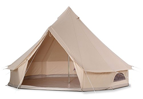 heavy duty waterproof four seasons cotton canvas homecamp bell tent with stove jack