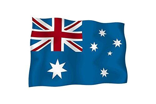 Adesivo Bandiera esterno vinile auto moto Australia (Australiano Moto)